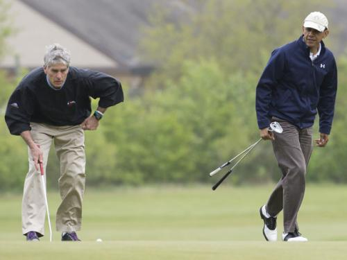 Udall Plays Round Of Golf With Obama, 2 Other Senators