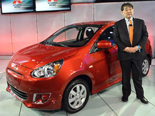 Unveiled: 2014 Mitsubishi Mirage At The New York Auto Show