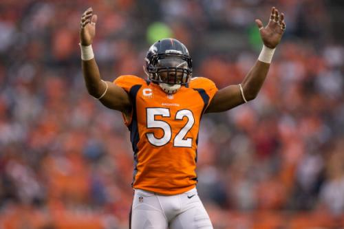 Wesley Woodyard has Quickly Become the Leader of Denver's Defense