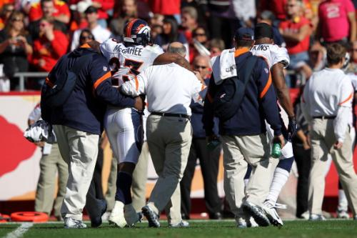Willis McGahee's Torn MCL Means Denver Broncos Will Run by Committee